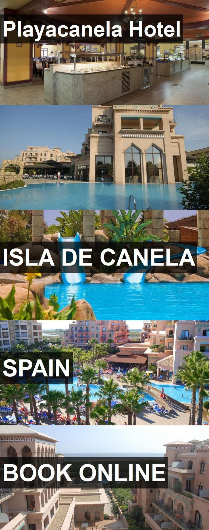 Playacanela Hotel in Isla de Canela, Spain. For more information, photos, reviews and best prices please follow the link. #Spain #IsladeCanela #travel #vacation #hotel