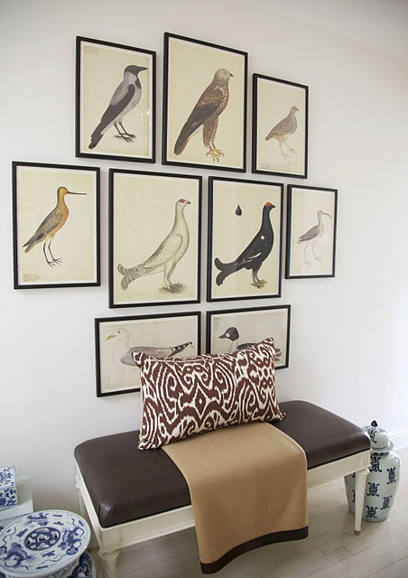Picture Arranging - What to do with a big empty wall
