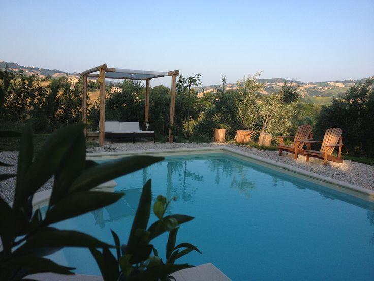 Time for a dip at Villa Moltini
