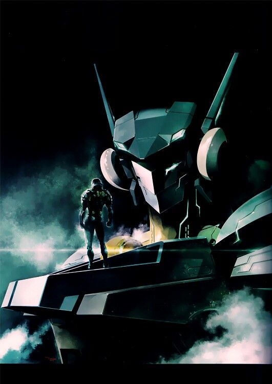 Dingo and Jehuty from  Zone of the Enders: 2nd Runner.