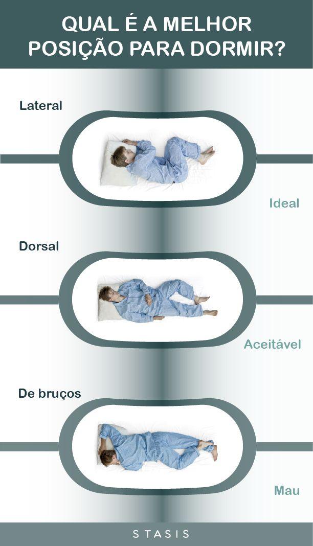 De bruços, de costas ou de lado? Saiba qual é a melhor posição para dormir, com o infográfico Stasis. Subscreva a nossa newsletter para receber mais informações sobre o sono.