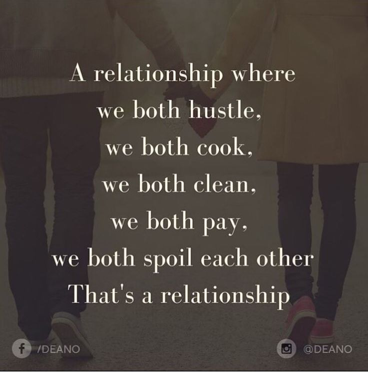 That's a relationship/marriage!!! ☺️Build an empire together!                                                                                                                                                                                 More