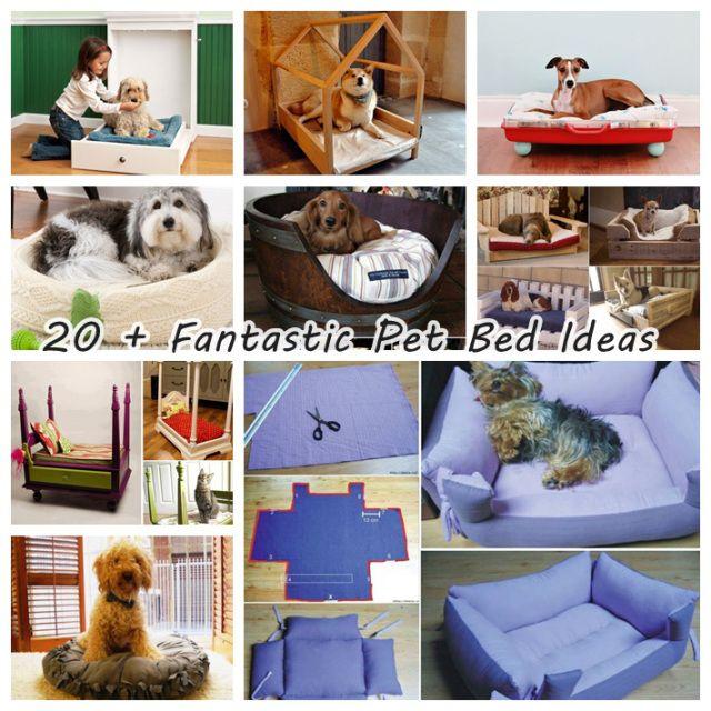 20 pet bed ideas wonderfuldiy 20+ Fantastic Pet Bed ideas http://www.jexshop.com/