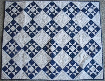 blue & white quilts | have a finish this is the blue and white star quilt i first posted ...