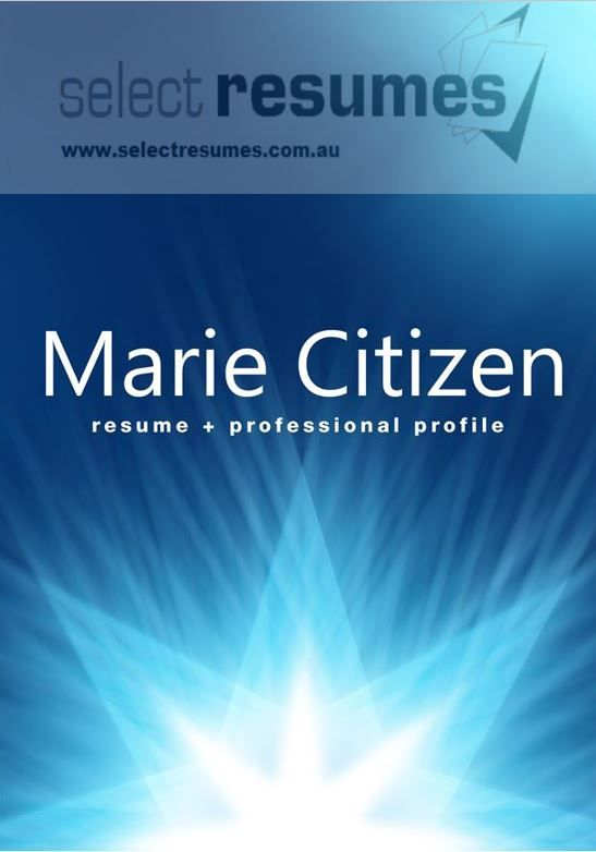 Show your star qualities with a professionally written and designed resume at resume writing services.