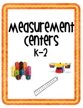Included in this download are 6 different measurement centers: they last my class the whole week!  Students will practice measuring length, capacit...