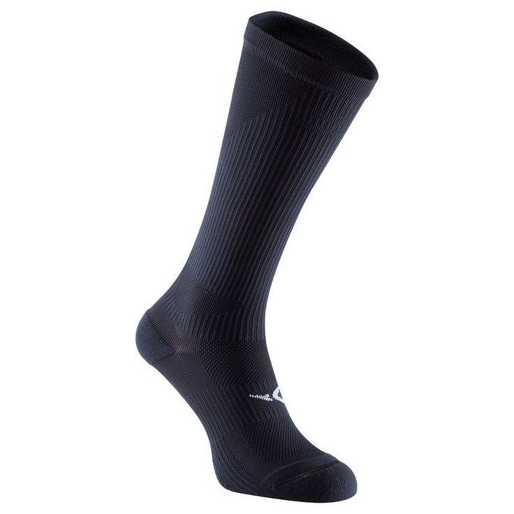 Fitnesz gépek, kardió ruházat Ruházat - Hosszú szárú zokni fitneszhez  DOMYOS - Ruházati kiegészítők