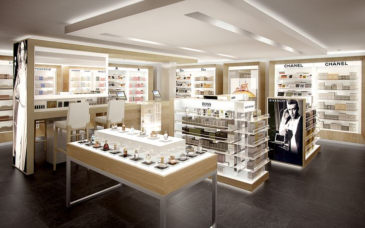 3D Render - photorealism - interiors / retail / architecture