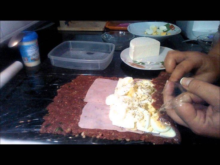 Dieta Dukan - Rocambole à portuguesa - fase ataque - Paty Slim