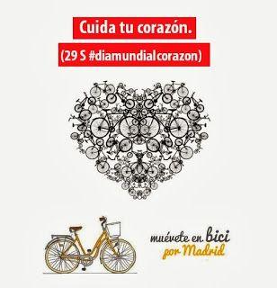 Utilizar la bici como medio de transporte habitual, te ayuda a cuidar ese corazón.