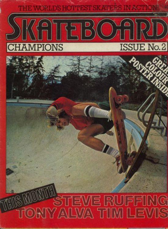 Vintage Skateboard Champion Mag