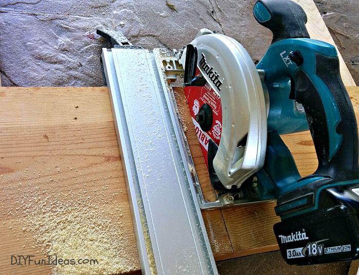 circular saw guide rail diy