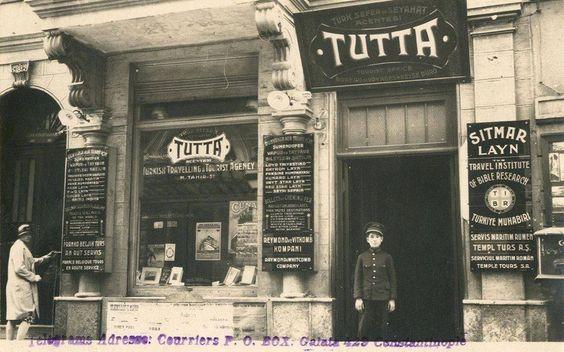 1920'ler Türkiye'nin ilk seyahat acentalarından TUTTA