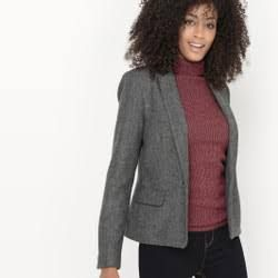 ladies blazer tweed