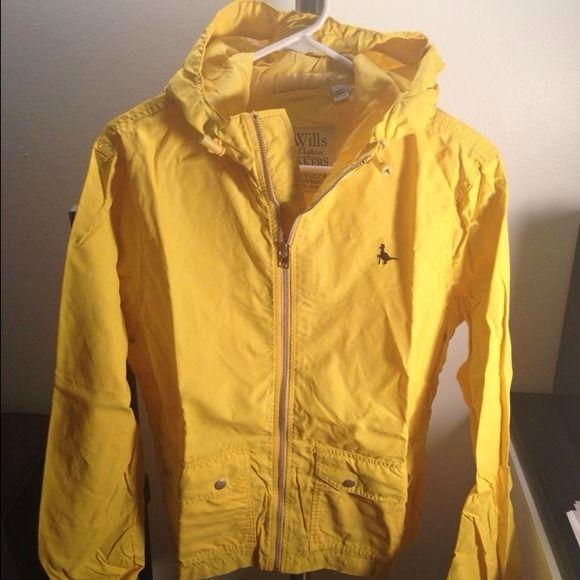Rain shell Yellow Rain shell US Men's Small Jack Wills Jackets & Coats