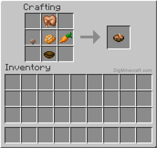 Minecraft food recipe the image kid has it for Cuisine minecraft