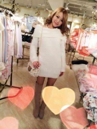 LIZ LISAPASSE BLOG ニットワンピ☆novelty実物!!! by LIZLISA近鉄パッセ店 CROOZ blog