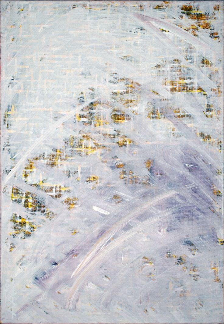 """Light-fibers heat"" Acrylic on canvas 35/50cm(2006) Created by Anda Anastasop[oulou https://www.facebook.com/Andapainting2015  Anda Anastasopoulou - Google+ https://plus.google.com/104006191383272659096"