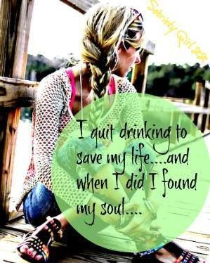 I lost my soul to alcohol and by the Grace of God and AA I am sober today! One day at a time....