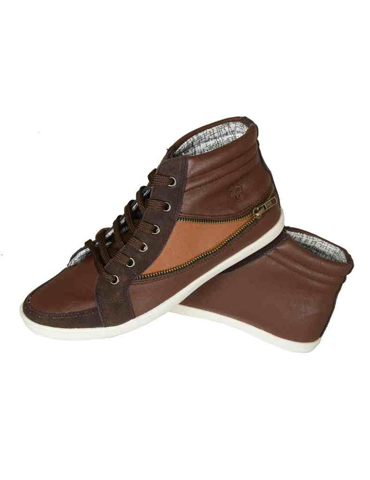 Zip Feature High Top. New Exclusive - by Soul Creation. Men's Fashion ShoeHigh ...