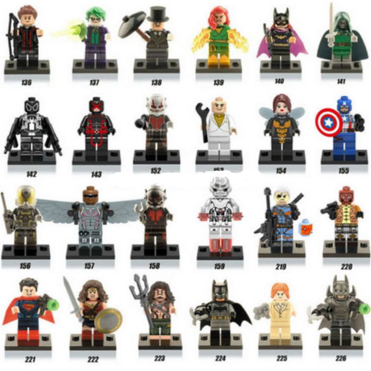 Lot of 24Pcs MiniFigures Lego Super Heroes Series Captain America Ant-Man New: Lot of 24Pcs MiniFigures Lego Super Heroes… #OnlineMarket