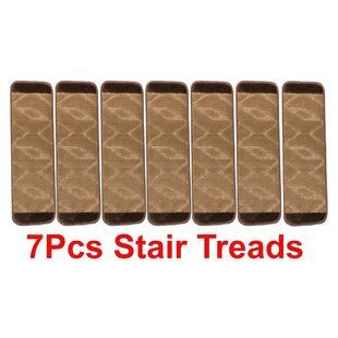 Best Tucker Murphy Pet Beauvais Stair Tread Wayfair Black 400 x 300