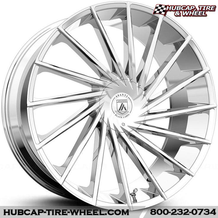 Asanti Black Label ABL-18 Chrome Wheels Rims