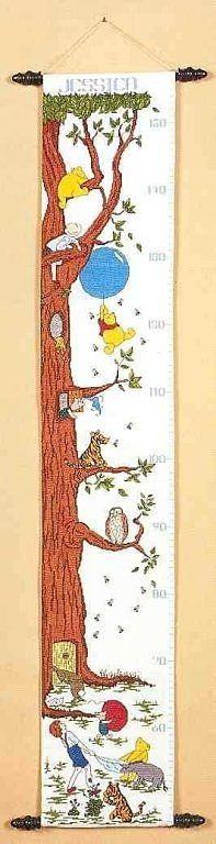The Classic Pooh Height Chart 1/12