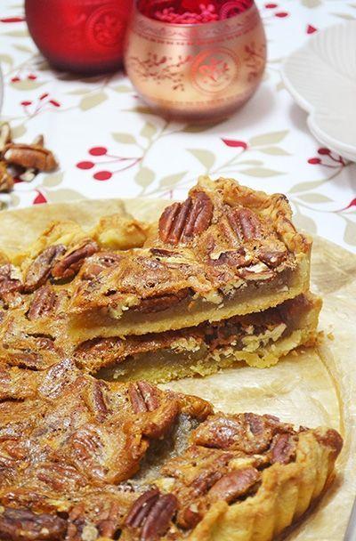 TARTA DE NUECES. Receta de tarta de nueces pecanas con ron y jengibre | Hosteleriasalamanca.es