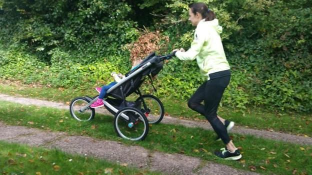 How does busy mum Jo Pavey train? It's a family affair!