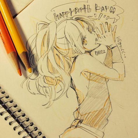 Girl Drawing Anime