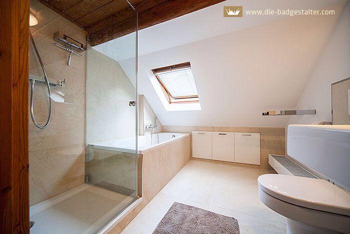 Dusche Decke Fliesen : Bad Dachschr?ge gut Pinterest