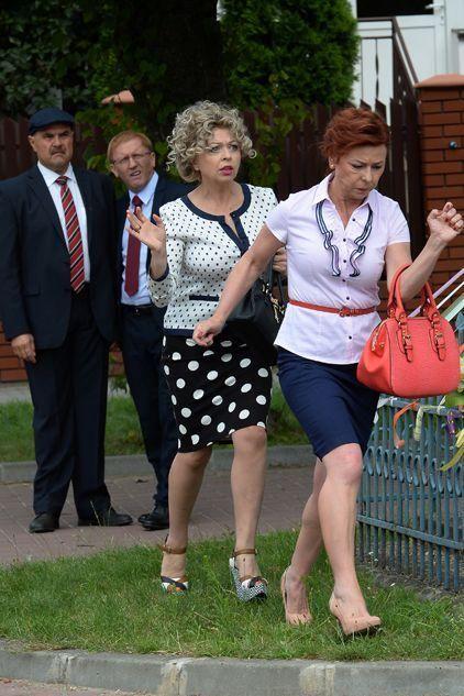 Ranczo 9 sezon. Senator Kozioł (Cezary Żak), Czerepach (Artur Barciś), Lodzia (Magdalena Kuta), Halina (Violetta Arlak)