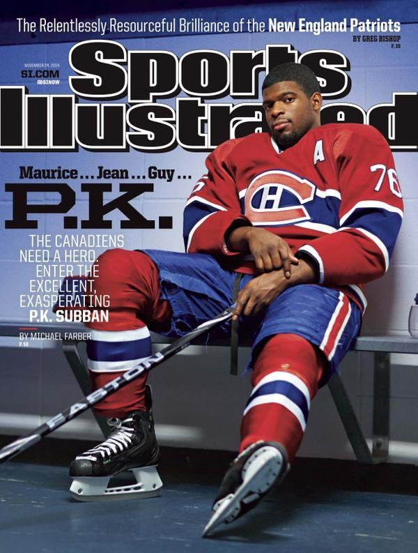 America doesn't care about P.K. Subban, according to Sports Illustrated | Puck Daddy - Yahoo Sports Canada