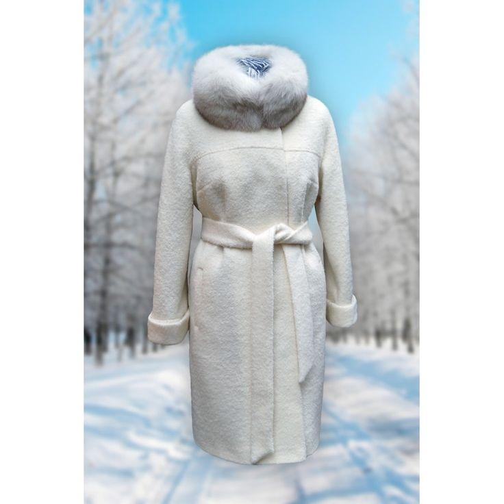 Модное зимнее женское пальто Азалия купить в Москве