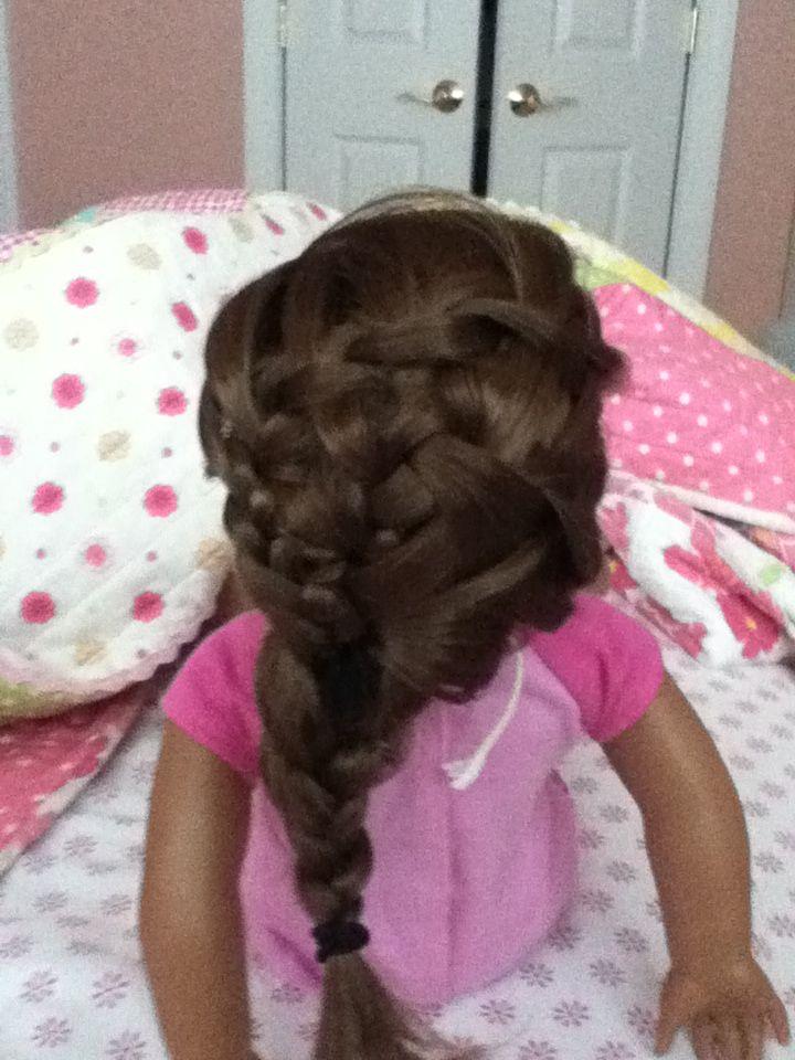 American Girl Doll Disney Hairstyles : Best images about american girl doll hairstyles on