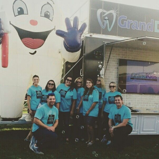 #nationalnightout and our Grand Dental - Channahon and Wilmington teams.