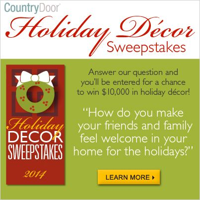 3rd Annual Holiday Home Dcor Sweepstakes Enter For A Home Decorators Catalog Best Ideas of Home Decor and Design [homedecoratorscatalog.us]