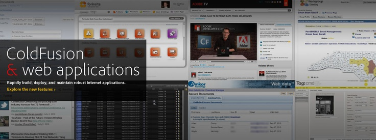 ColdFusion: You could use another server-side platform but you'd probably be wasting time.