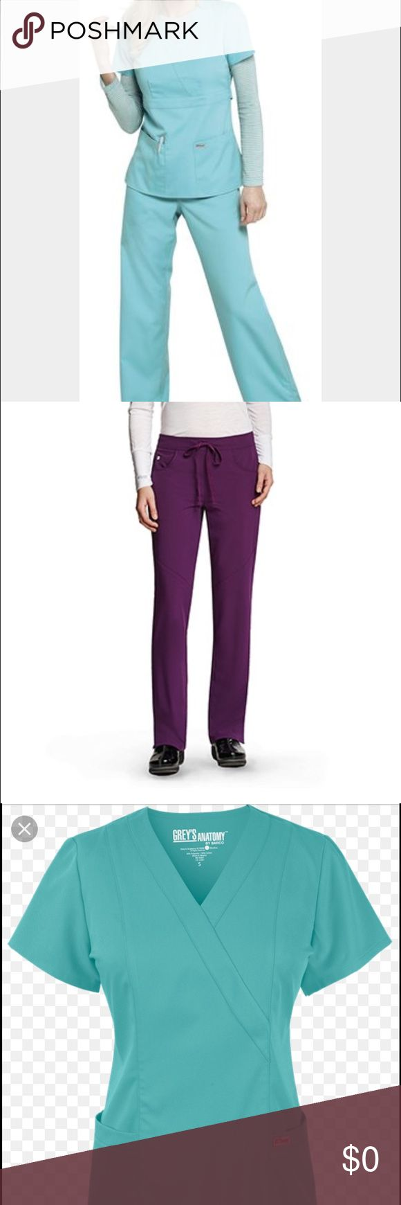 ISO NEED SCRUBS!!! Hi! I am in desperate need of some greys anatomy with cargo pocket pants in a size SMALL TALL, and some matching tops in a SMALL as well. Help a gal out! Thank you in advance. 😊😊 Pants