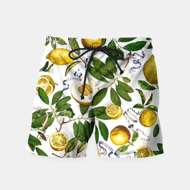 Lemon Tree Swim Shorts white by Fifikoussout 29.95€