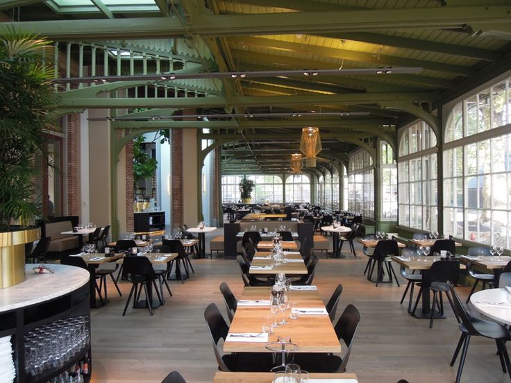 Cafe Restaurant De Plantage Opened Its Doors And It Is