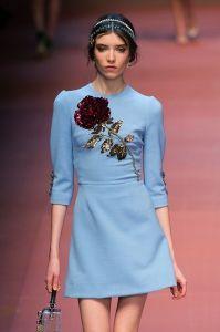 Vestiti anni '60 dalle collezioni autunno inverno 2015-2016