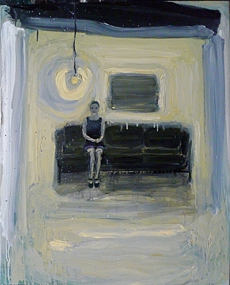 Mum, Oil on canvas 80x60cm by Per Adolfsen 2012