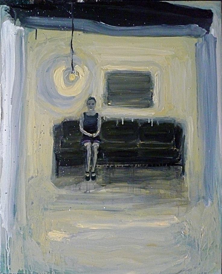 Mum, Oil on canvas 80x60cm by Per Adolfsen 2012