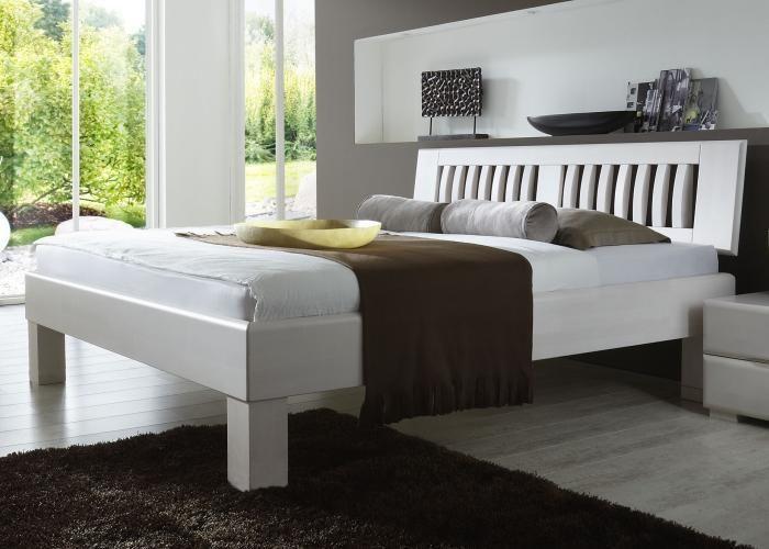 Nett Bett Weiss Holz 180x200 Deutsche Furniture Bed Decor