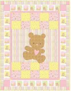 Best 25+ Teddy bear quilt pattern ideas on Pinterest   Teddy bear ... : free baby quilt applique patterns - Adamdwight.com