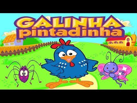 A Galinha pintadinha 2015 mostrando os seus CD's 1, 2, 3 e 4 Desenho Com...