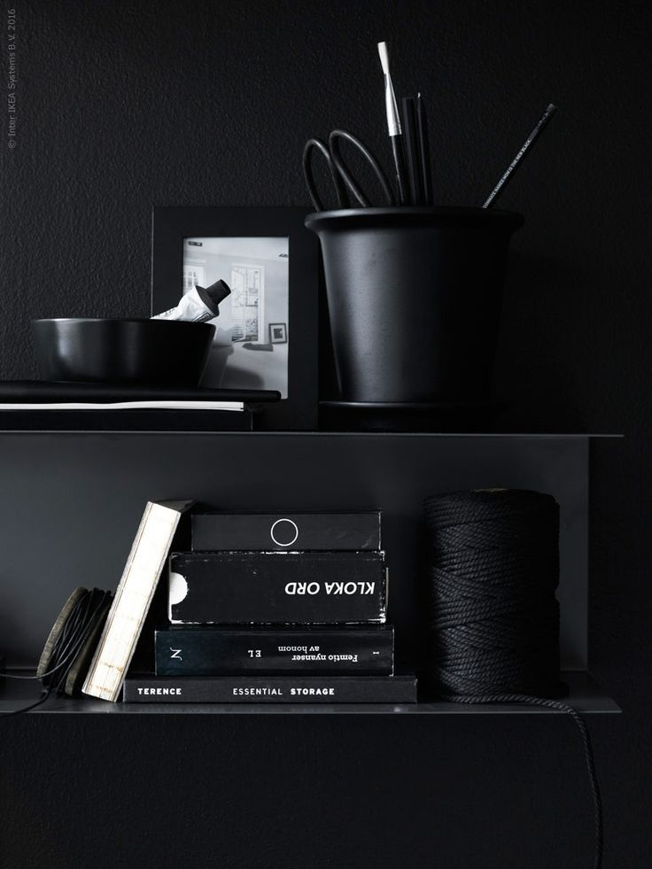 black Ikea details