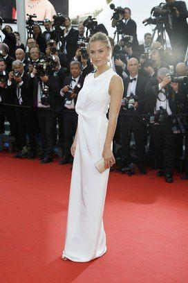 Bar Refaeli no primeiro dia do Festival de Cinema de Cannes. Foto: AP Photo